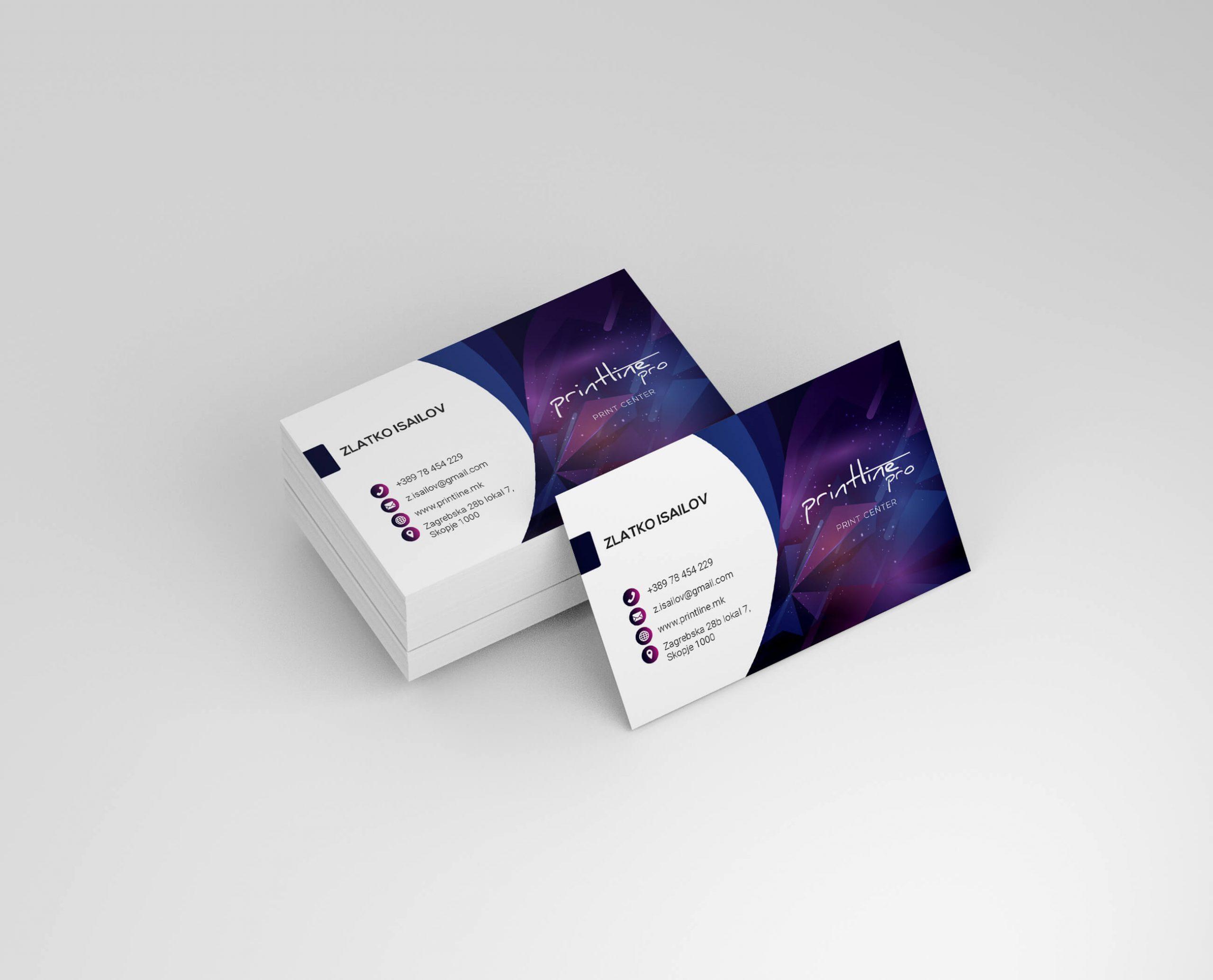Visit card web